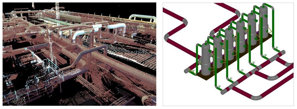 Створення 3D моделі технологічного об'єкта та інженерних комунікацій