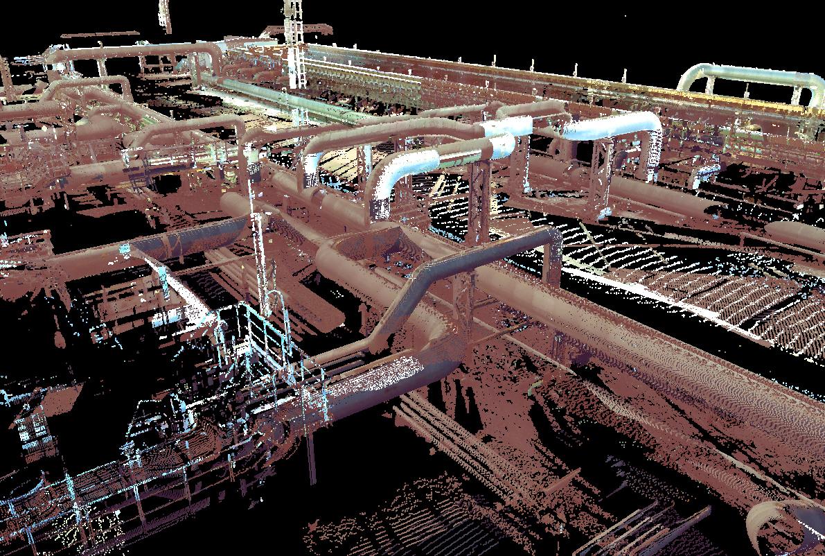 3D модель технологического объекта