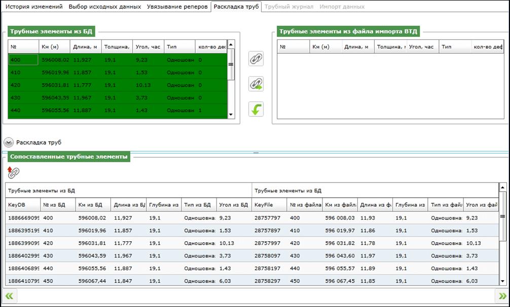 Автоматизированный импорт результатов диагностики в систему, импорт в базу данных диагностической информации
