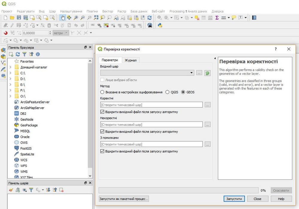 QGIS ukrainian localization