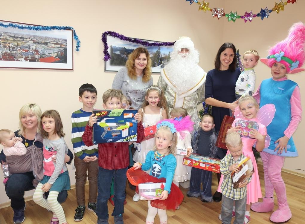 Дитяче новорічне свято ИТТ