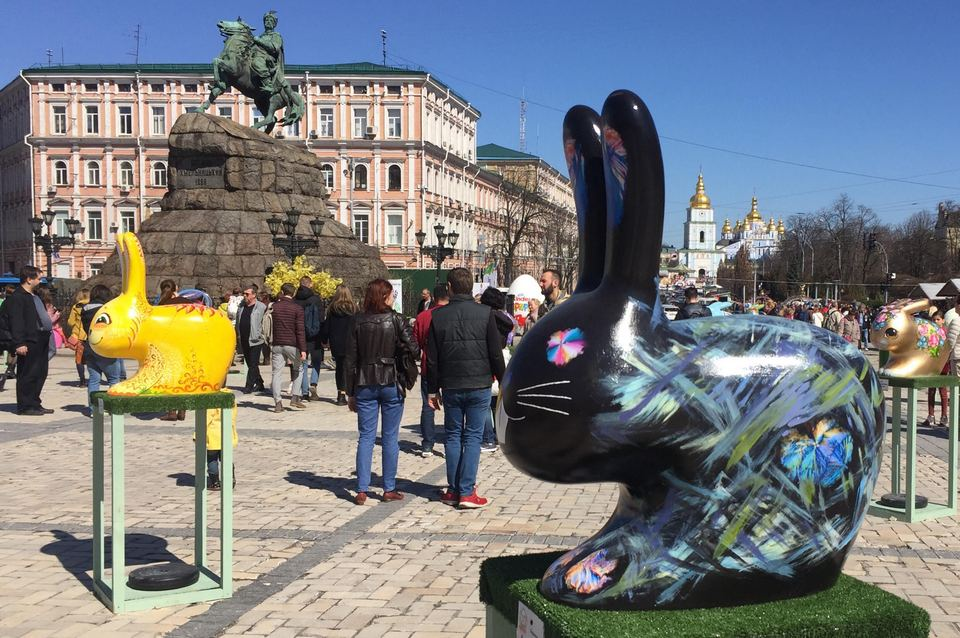 Фестиваль писанок.Киев