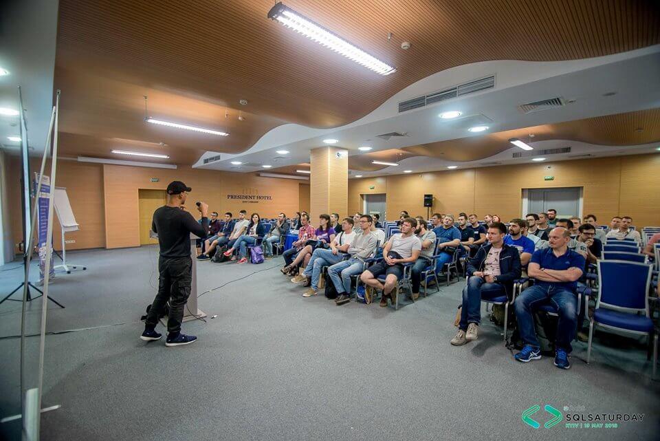 Конференция SQL Saturday Kyiv