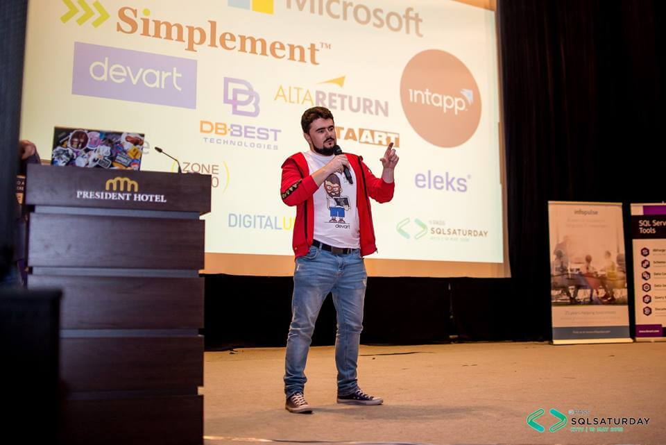 Конференция SQL Saturday Kyiv