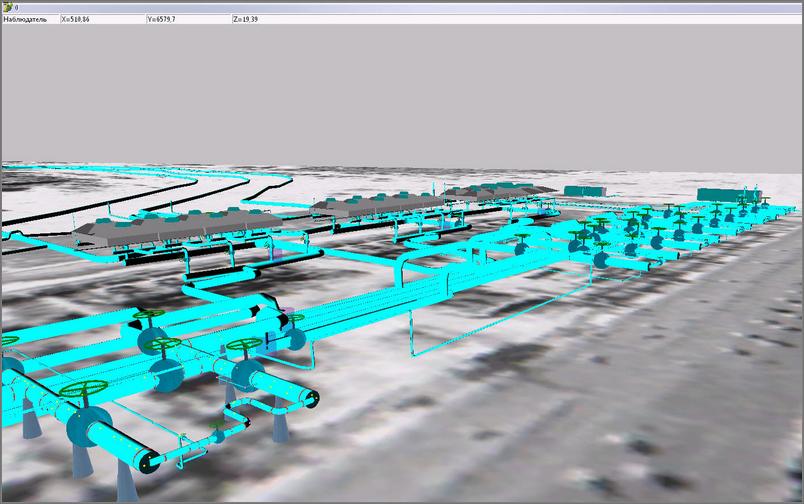 ГІС Інженерних мереж. 3D