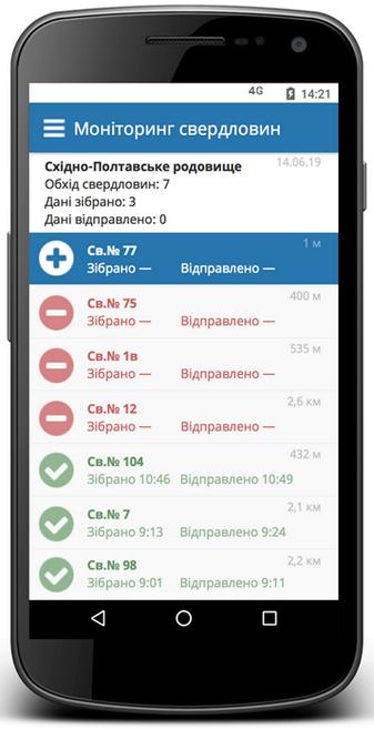 Мобильный документ, задание на смену